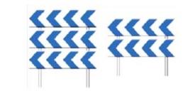 Panel direccional permanente