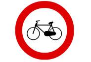 R-114. Entrada prohibida a ciclos