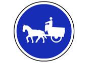 R-408. Camino para vehículos de tracción animal