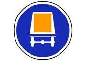 R-414. Calzada para vehículos que transporteR-414. Calzada para vehículos que transporten mercancías peligrosasn mercancías peligrosas
