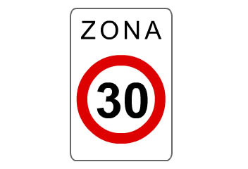 S-30. Zona a 30