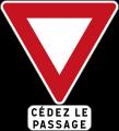 Cédez le passage en Francia y Mónaco