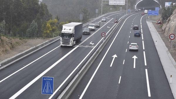 Imagen de la Autovía del Morrazo