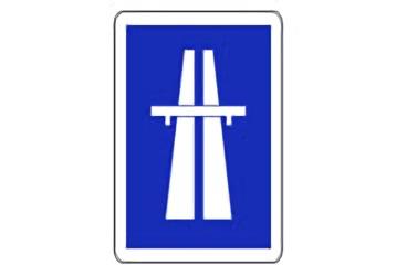S-1. Señal de Autopista