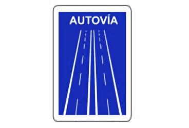 S-1a. Señal de Autovía