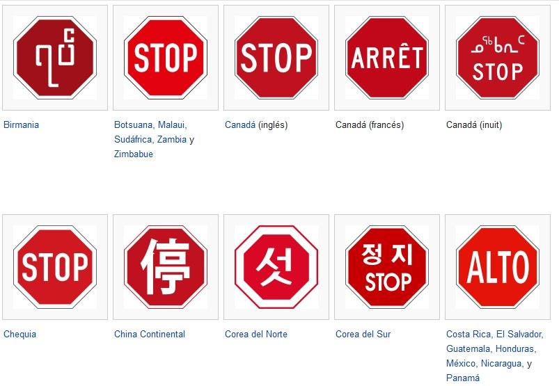 Señales de Stop