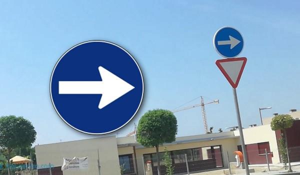 señales de obligación de tráfico dgt