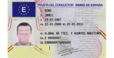 tarjeta de tacógrafo digital