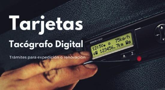 tarjeta de tacografo digital