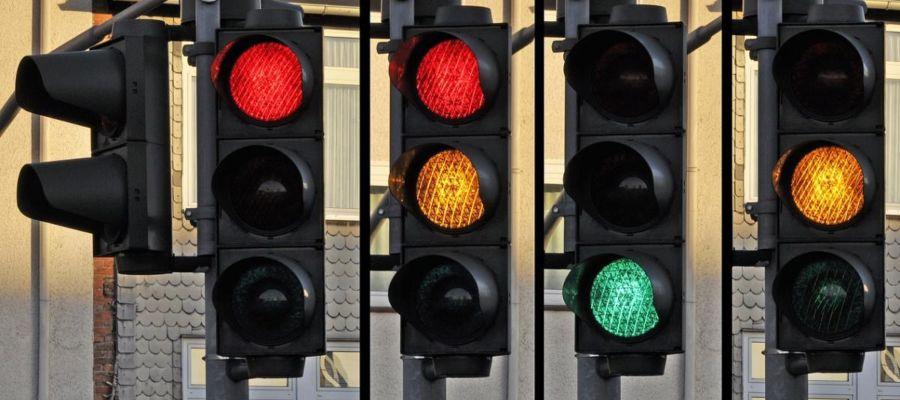 luces de los semaforos