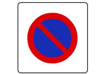 señal R-309 Zona de estacionamiento limitado