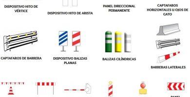 señales de balizamiento fijo y variable