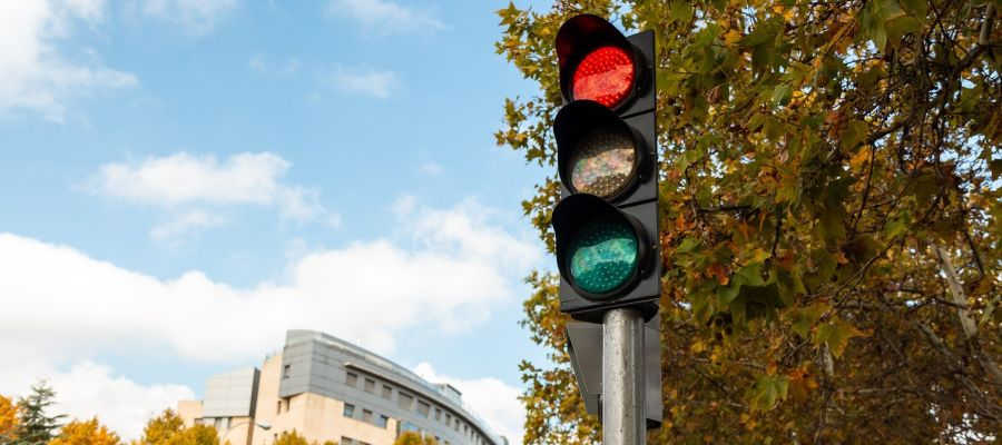 semaforos circulares
