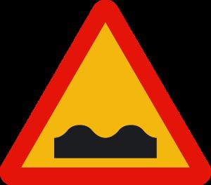 señal de obras TP-15 perfil irregular