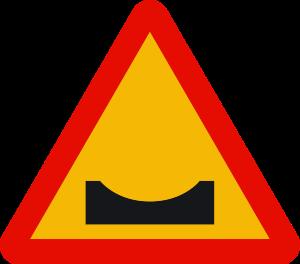 señal de obras TP-15b badén