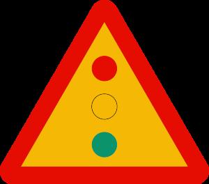 señal de obras TP-3 semáforos