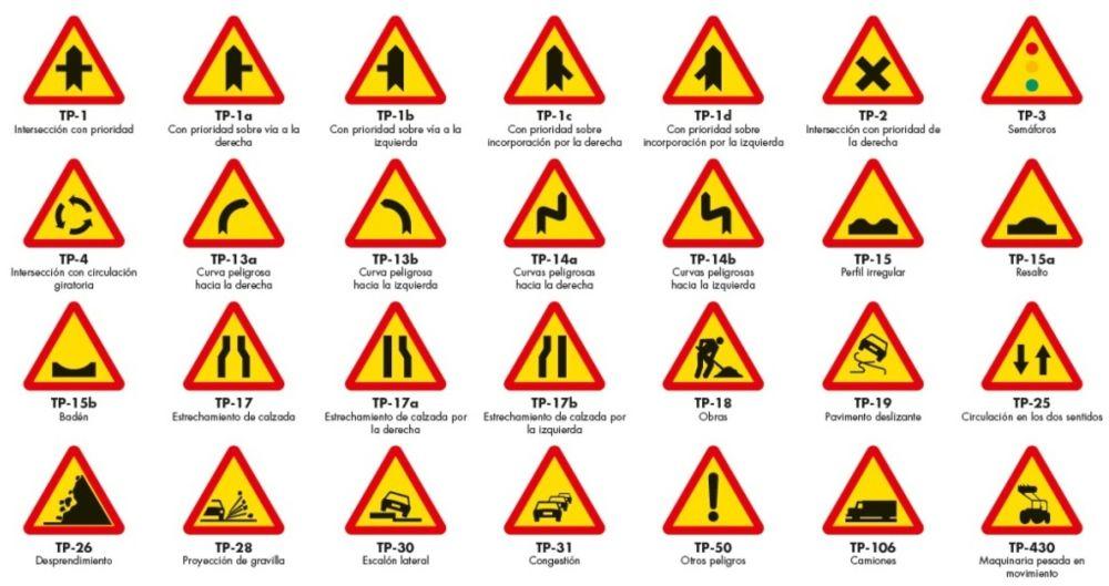 señales de trafico de obras